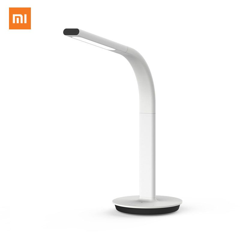 Lampe d'origine Xiaomi Mijia Table lumineuse LED 2nd lampe de bureau lampe de Table intelligente lampe de bureau double lumière Support téléphone Mobile App contrôle