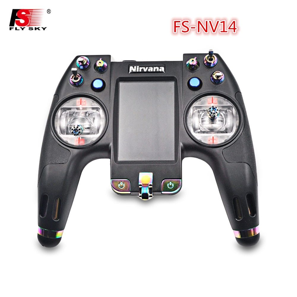 Flysky FS-NV14 2.4G 14CH Nirvana Transmitter Remote Control With IA8X Receiver For RC Helicopter Transmitter FPV Drone RC Car
