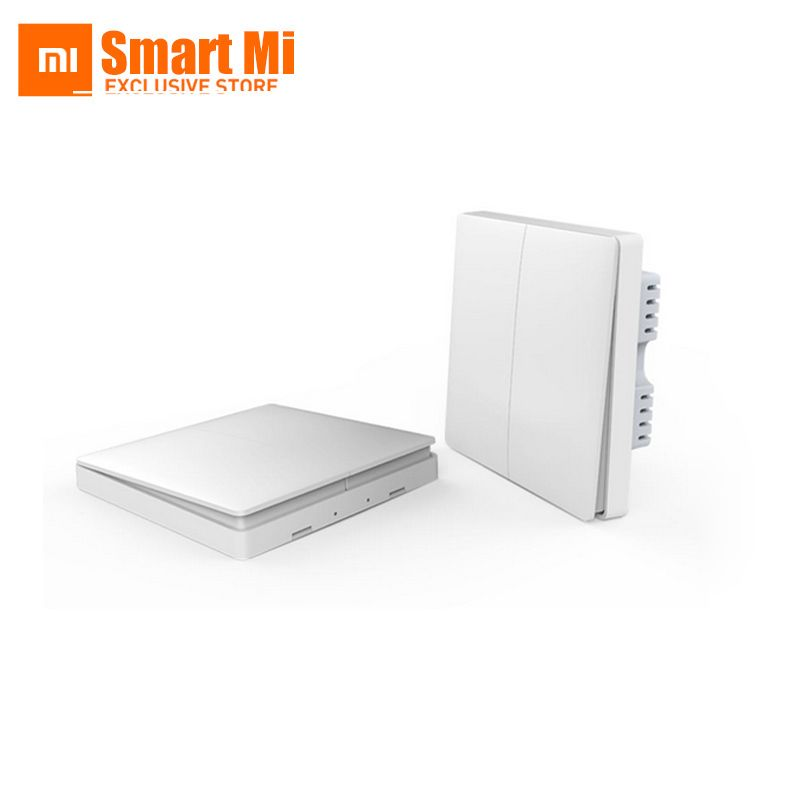 In Stock! New Xiaomi Aqara Smart Light Control ZiGBee Wireless Key and Wall Switch Via Smarphone APP Remote