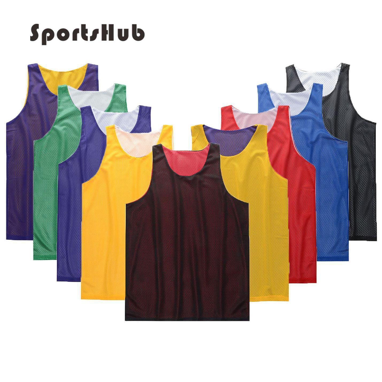 SPORTSHUB anti-boulochage respirant maillots de basket-ball Polyester Anti-rides collège maillots de basket-ball impressions personnalisées SAA0003