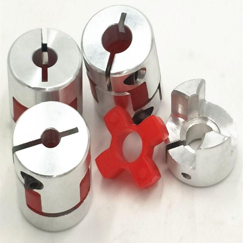 150 teile/los Welle Größe = 8mm bis 10mm Jaw Flexible Kupplung Plum Koppler Durchmesser = 25mm Länge = 30mm 8mm Bis 10mm