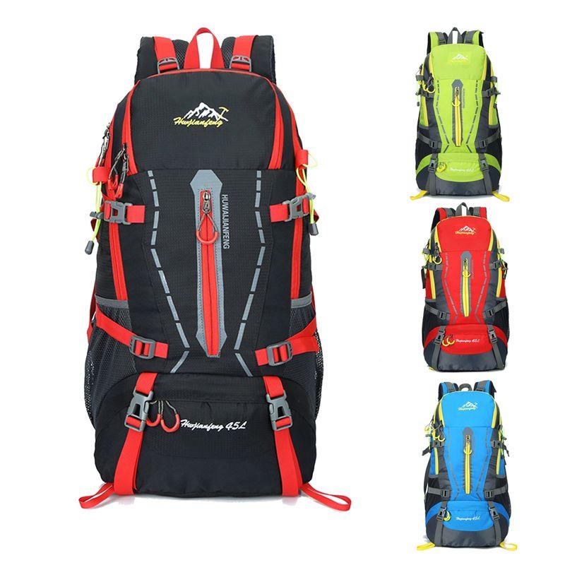 40L Waterproof Women&Men Travel Backpack Large Capacity Outdoor Camping Mochilas Climbing <font><b>Hiking</b></font> Backpack Sport Packs Rucksack