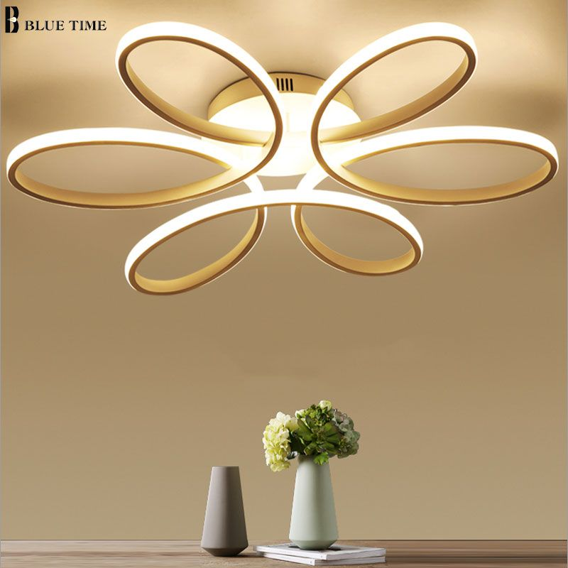 NEW Modern LED Chandeliers For Living Room bedroom Dining room Fixture Chandelier Ceiling lamp Dimming home lighting luminarias
