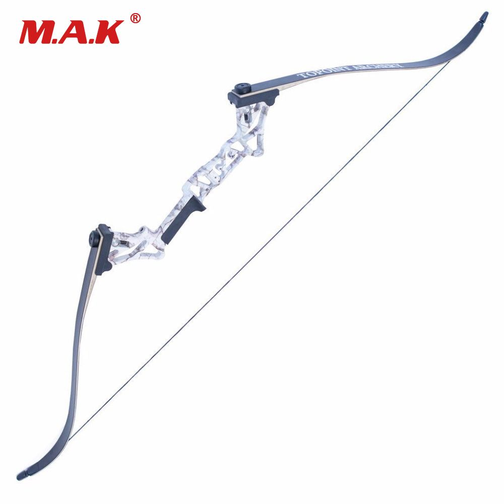 5 Colors Hybrid Bow Fishing Bow 30-50 Lbs 58 Inches Aluminum Alloy Bow Handle for Compound Recurve Bow Archery Hunting Shooting