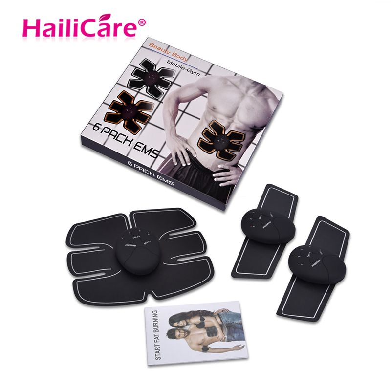 EMS Abdominal Muscle Training Stimulator Device Wireless Belt Gym Professional Body Slimming Massager Home Fitness Beauty Gear
