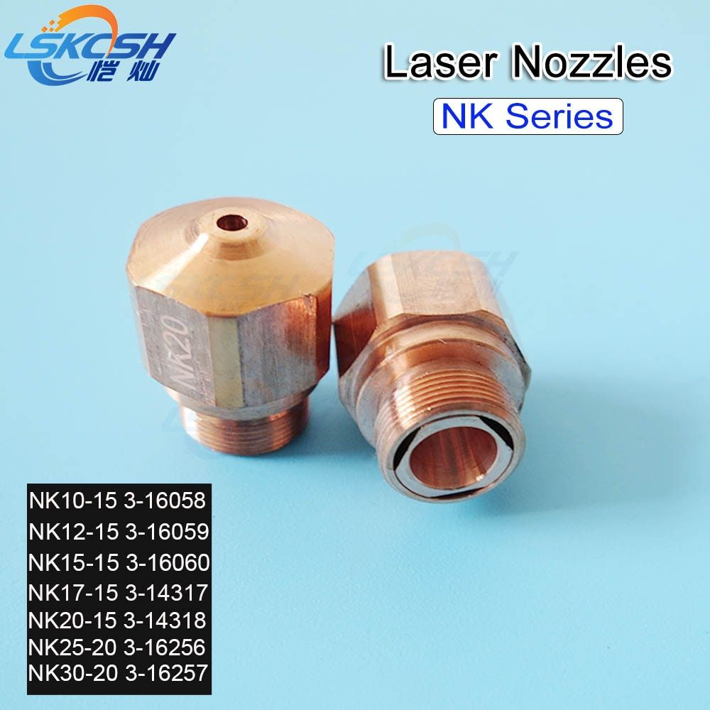 LSKCSH 10 teile/los NK10 NK12 NK15 NK17 NK20 NK25 NK30 bystronic Düse hochdruck für Bystronic maschine Freies verschiffen großhandel