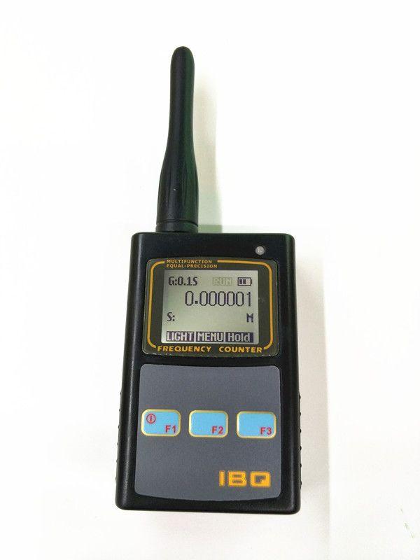 Handheld Frequency Meter Counter Wide Range 10Hz-2.6GHz IBQ102 for Baofeng Yaesu Kenwood Portable Two Way CB Radio Walkie Talkie