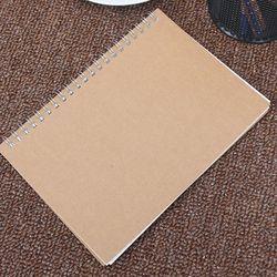 A5 Bullet Journal Portable Moyen Relié 90 Pages Dot Grille Journal blanc