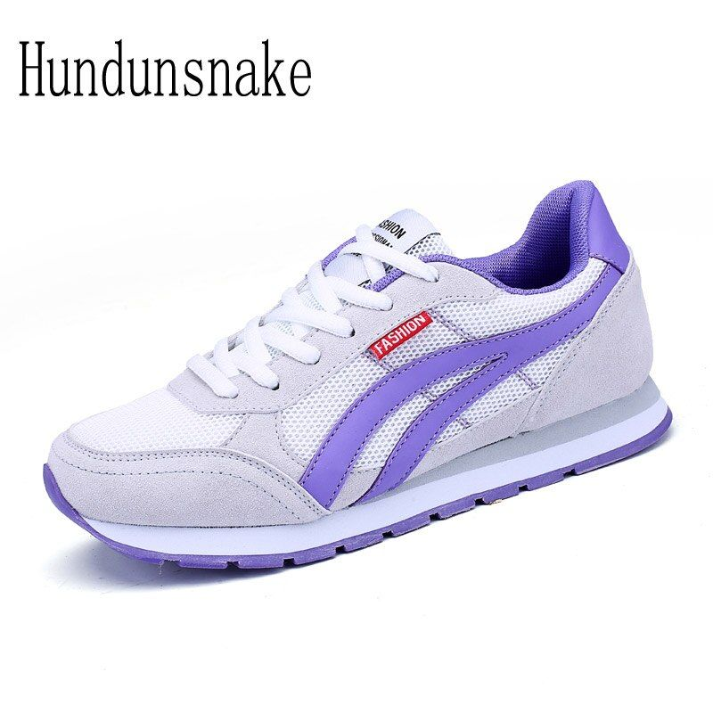 HUNDUNSNAKE 2018 Women Sneakers Ladies Sport Shoes Running Cheap Female Jogging Air Mesh Breathable Lightweight Krasovki T630