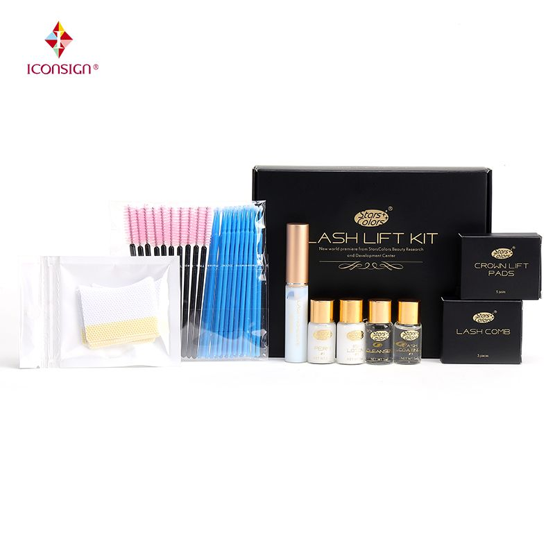 Fast Perm Mini Eyelash Kit Lashes lift Cilia Make Up Perming Lifting Nutritious Growth Treatments Brushes Pads Beauty Tools