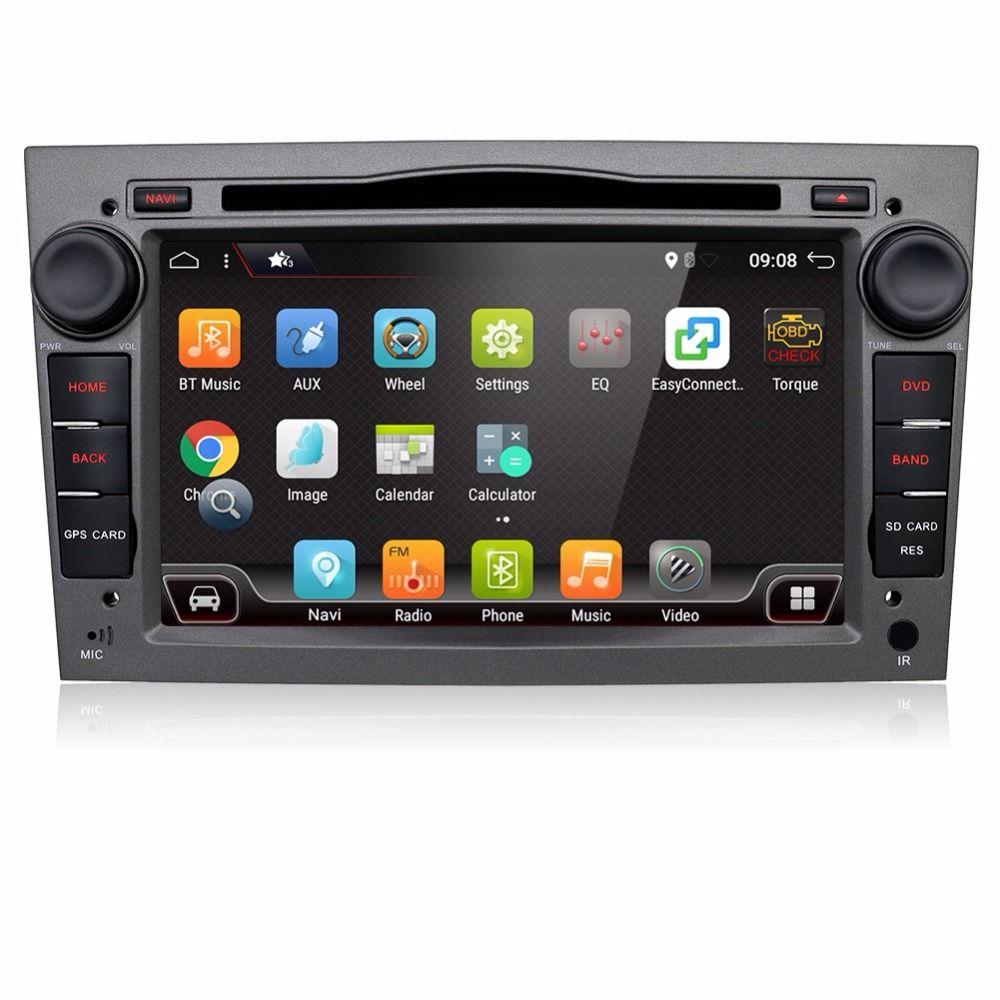 Android 7.1 2Din Car DVD AUTORADIO NAVIGATION WIFI For Vauxhall Opel Astra H G Vectra Antara Zafira Corsa Multimedia