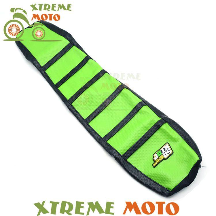 Green Gripper Soft Seat Cover For Kawasaki KX125 KX250 KX 125 250 94-98 Motorcycle Motocross Dirt Pit Bike Off Road Enduro