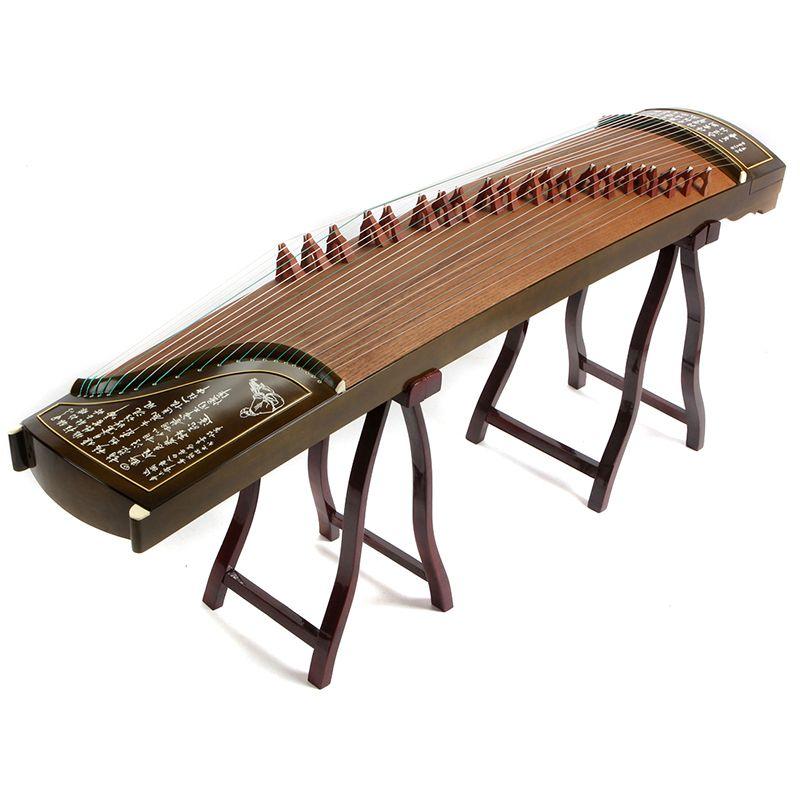 Hohe Qualität Professionelle Ebene 10 Spielt Guzheng Yangzhou Musikinstrumente Chinese 21 Saiten Mit Voller Zubehör