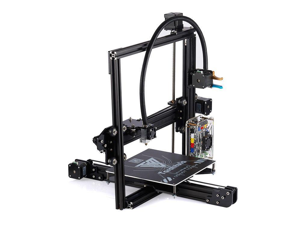 Impresora 3D TEVO Tarantula 3D Printer Single & Dual Extruder With Titan extruder 2 Rolls 250G 1.75mm Filament SD Card as gift