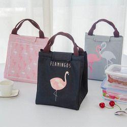 Bébé Bouteille de Lait Isolation Sacs Flamingo Étanche Oxford Sac À Lunch Infantile Enfants Chauffe-Plats Thermique Sac