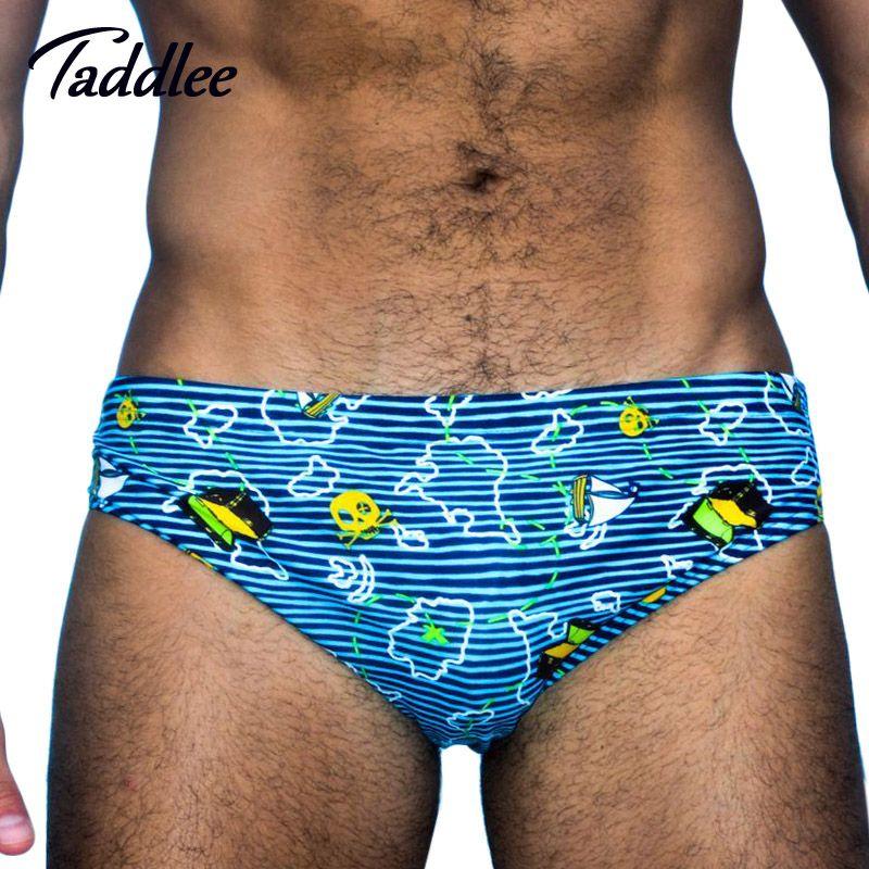 Taddlee Brand Mens Sexy Swim Wear Brazilian Classi Cut Swimsuits Men Swimwear Swim Briefs Bikini Gay Penis Pouch WJ Low Waist