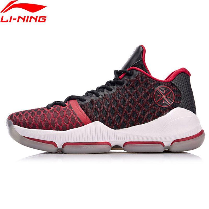 Li Ning Männer Wade SPALTUNG III Winter Edition Professionelle Basketball-schuhe Futter Wolke BOUNSE + Sportschuhe ABAN011 XYL137