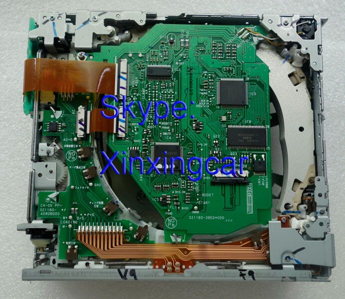 100% NEW Fujitsu ten 4 CD mechanism CH-05-431 loader for Toyota Sequoia Tundra Sienna voice navigation DENSO 86120 car radio