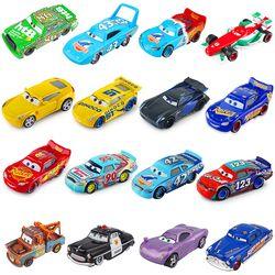 Disney Pixar Cars 3 2 Jackson Tempête Foudre McQueen Cruz Ramirez 1:55 Diecast Metal Jouets Modèle De Voiture Cadeau D'anniversaire Pour Enfants Garçon