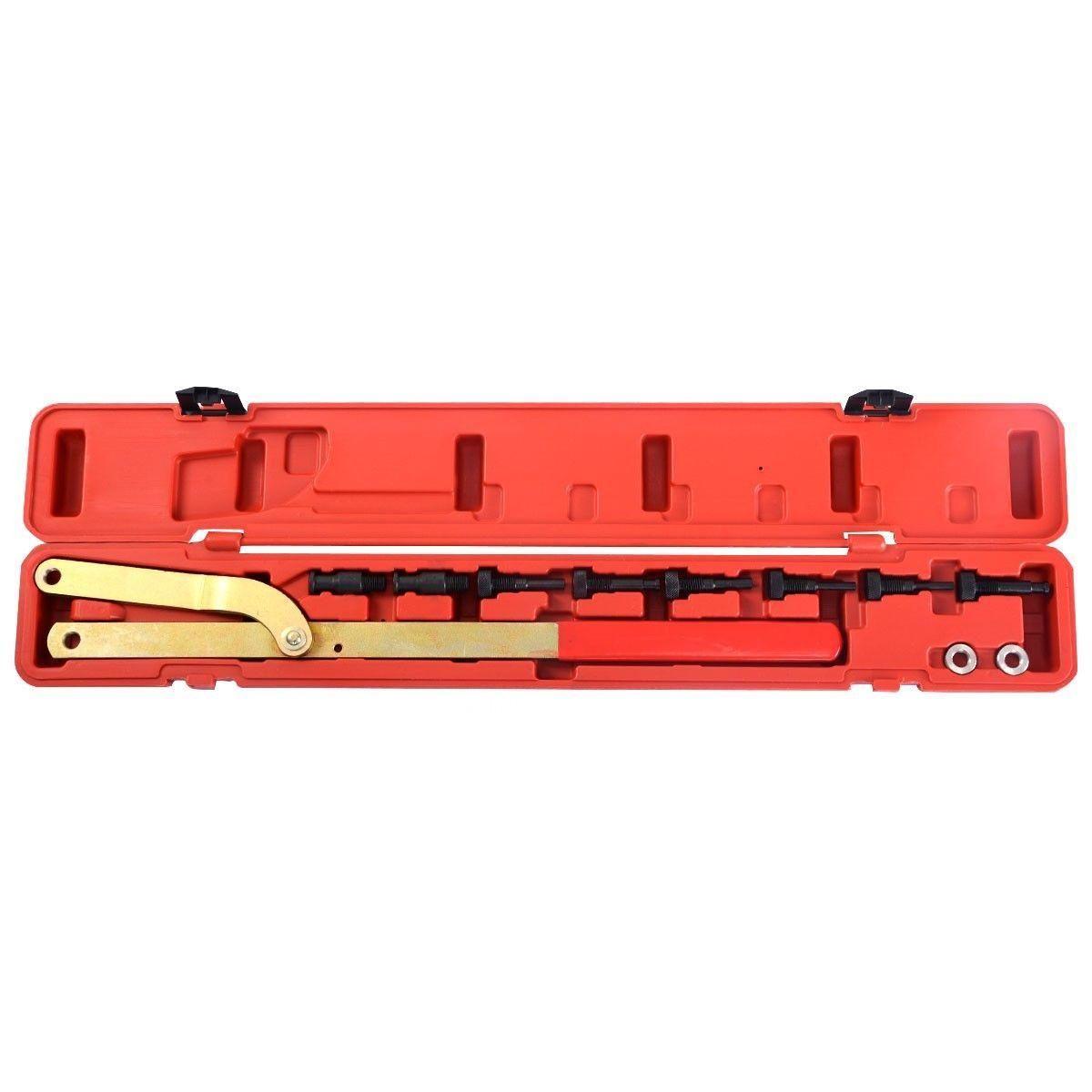 Универсальный автомобильный распределительного шкив и муфты вентилятора выравнивания УДАЛЕНИЯ держатель набор инструментов AT2229