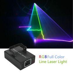 Aucd Mini RGB Full Color Laser Lampu DMX Master-Slave DJ Pesta Rumah Acara Panggung Profesional Lampu DJ-507RGB