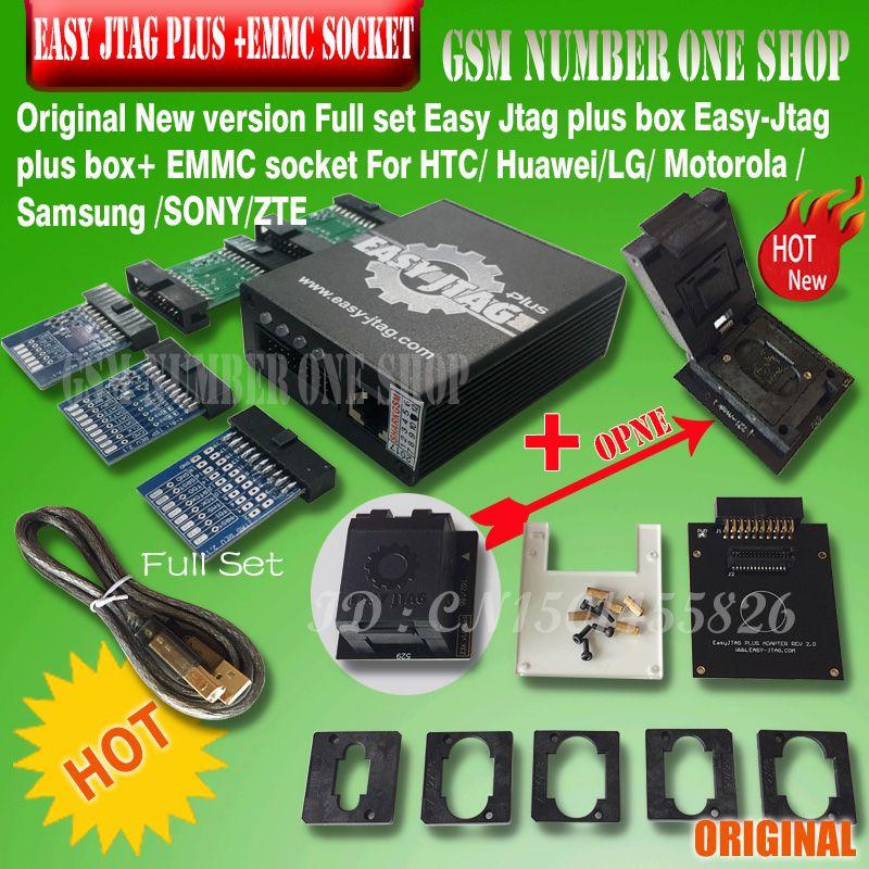 2019 neue version Vollen satz Einfach Jtag plus box Einfach-Jtag plus box + EMMC buchse Für HTC/ huawei/LG/Motorola/Samsung/SONY/ZTE