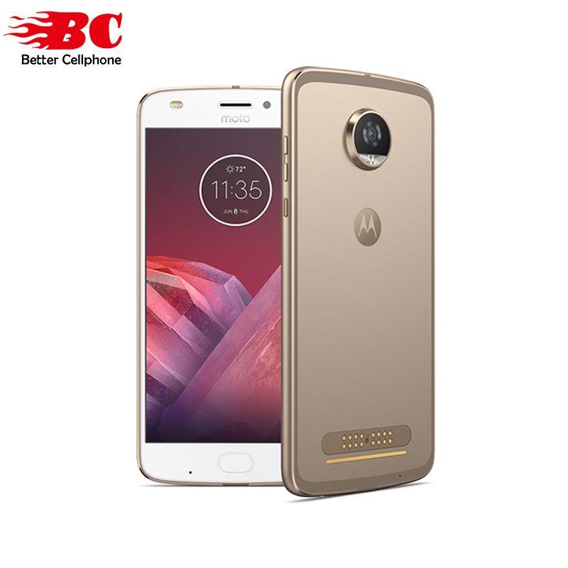 Original Motorola MOTO Z2 Play XT1710 Fingerprint Smartphone Qual-comm Octa Core Android 7.1 5.5 Inch 4GB RAM 64GB ROM MOTO Mod