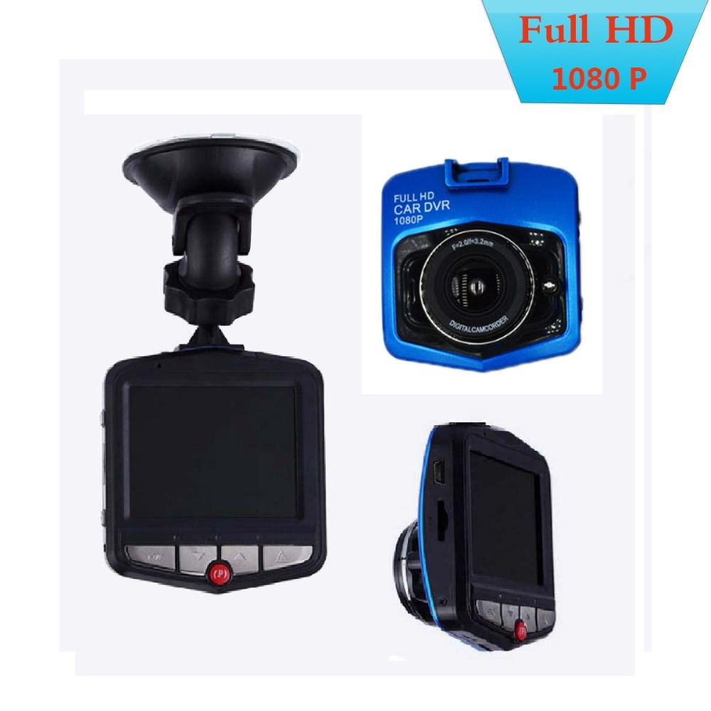 GT300 Camcorder Auto Car <font><b>DVRs</b></font> 2.4'' LCD 1080P Full HD Video Camera Recorder Video G-sensor Night Vision Trace Cam Cars Camera