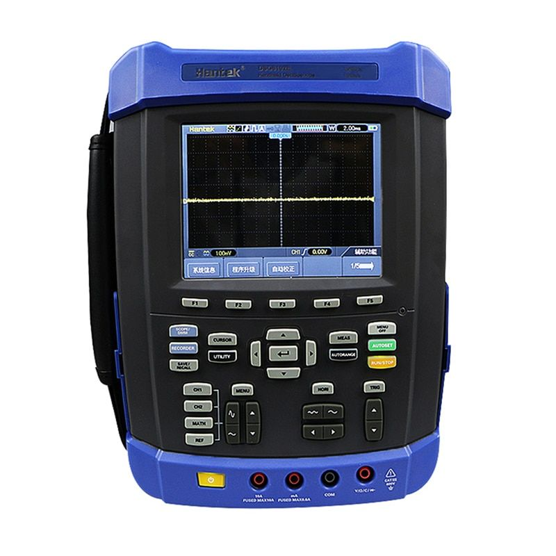 Hantek DSO8102E Handheld Oscilloscope 2 Channels 100MHz Six in one IP-51 rated for dust drip and shake Factory direct sales