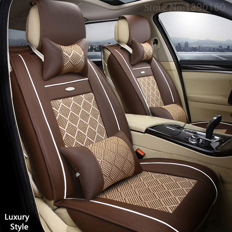 Breathable Leather car seat covers For Opel Astra h j g mokka insignia Cascada corsa adam ampera Andhra zafira car accessories