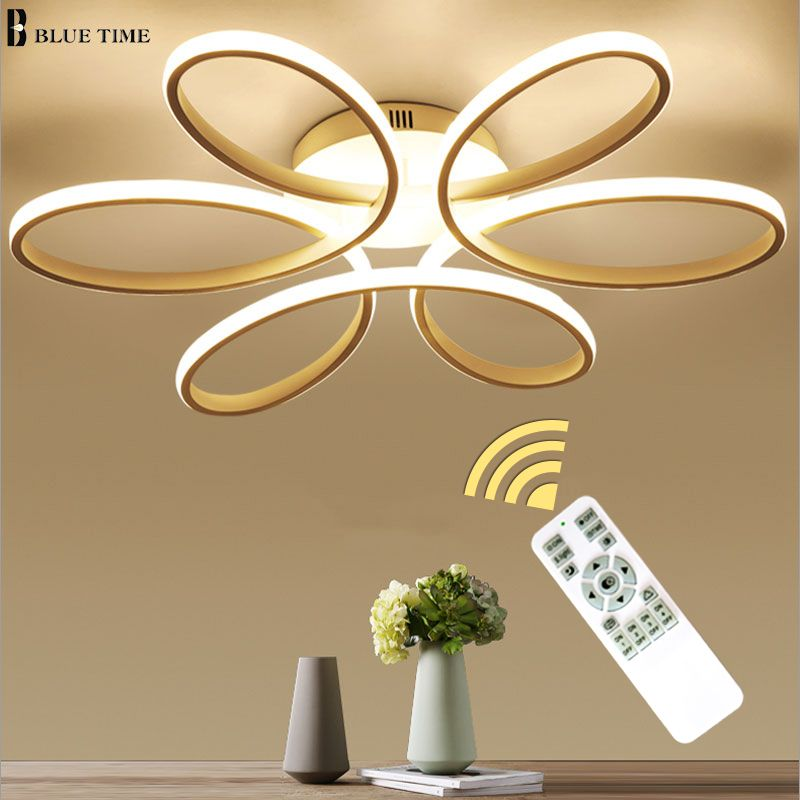 NEW Modern LED Chandeliers For Living Room bedroom Dining room Fixture Chandelier Ceiling lamp Dimming home lighting luminarias.