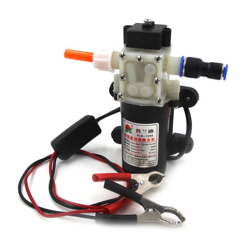 gasoline Professional Electric DC 12V Oil Pump, Diesel Fuel Oil Engine Oil Extractor Transfer Pump, Powered By Car Battery