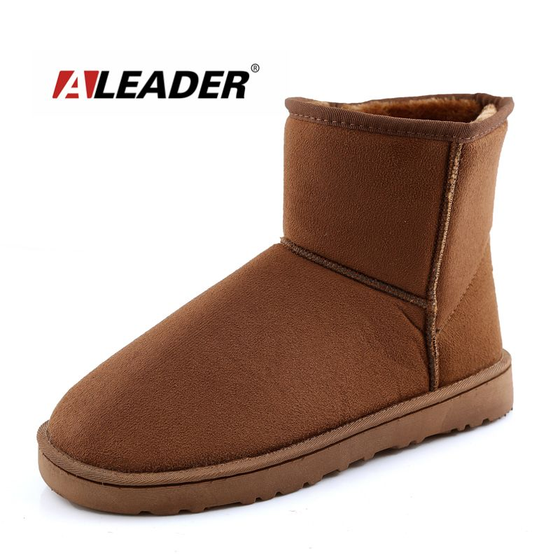 Fashion Women Boots Fur Winter Snow Boots FemaleShoes New 2016 Warm Ladies Ankle Australia Boots Women Botas Botte Femme Zapatos