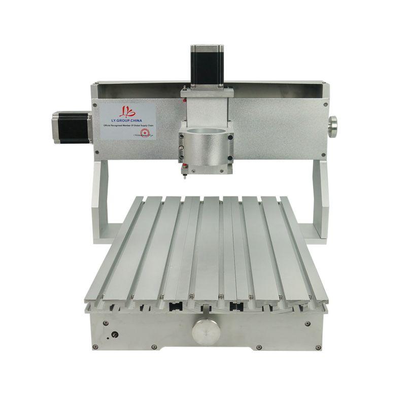 LY 65mm spindel clamp cnc gravieren maschine rahmen 3040 mit schrittmotor