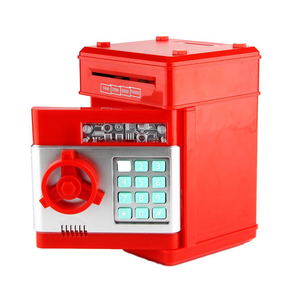 Do Dower juguete alcancía Digital ATM ahorrar dinero caja electrónica contraseña Chewing moneda máquina de depósito en efectivo novedad niños juguete