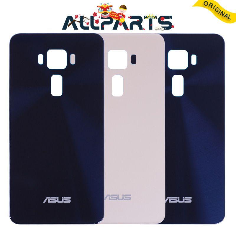 D'ORIGINE Retour Logement Pour Asus ZenFone 3 LITE ZE520KL 5.2 pouce Retour Couvercle de La Batterie Arrière Porte Adhésif Pièces De Rechange
