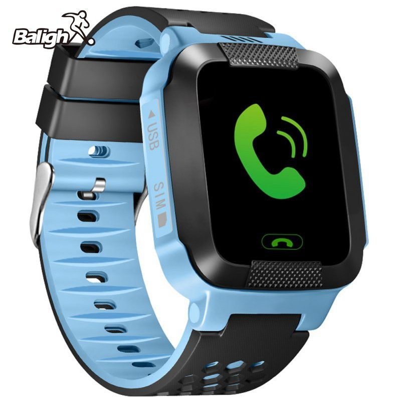 Children GPS Phone Positioning Watch 1.22 inch Color Touch Screen WIFI SOS Smart Watch Baby Q80 Q50 Q60 Find Touch Smartwatch
