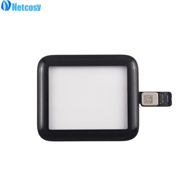 Netcosy Für apple uhr 2Gen Neue Frontglas Touchscreen Digitizer Touch Panel Reparatur Für Apple uhr serie 2 42mm Touchscreen