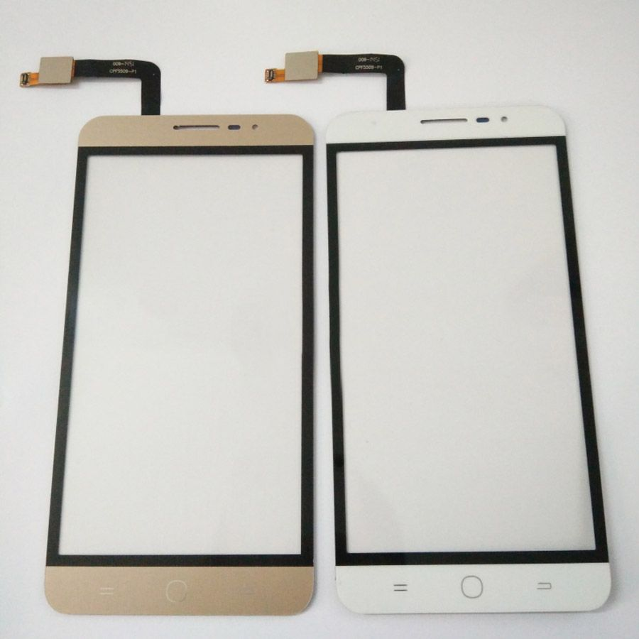 100% NEW Tested 5.5inch touch  For Coolpad E501 Touch Screen Digitizer Front Glass Lens External screen + Tracking Number
