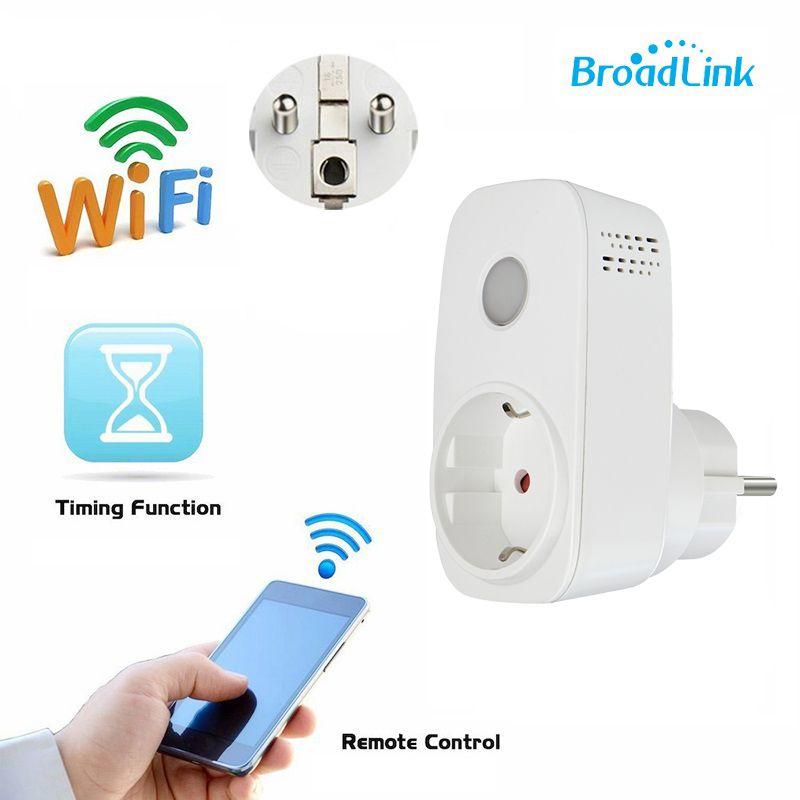 Broadlink SP3 contros Smart розетка штекер 16a Беспроводной Wi-Fi гнездо 3G 4 г 16a США ЕС Разъем для автоматизация современного дома
