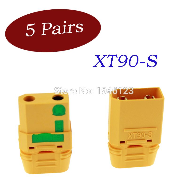 Amass XT90S XT90-S Anti-spark XT30 XT60 XT90 MR30 XT60H Connector Plugs Male Female FPV Drone Battery Connector