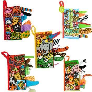 Детские игрушки, детские книги для раннего развития, тканевые книги для детей, Обучающие книги, хвосты животных, динозавр SZ04