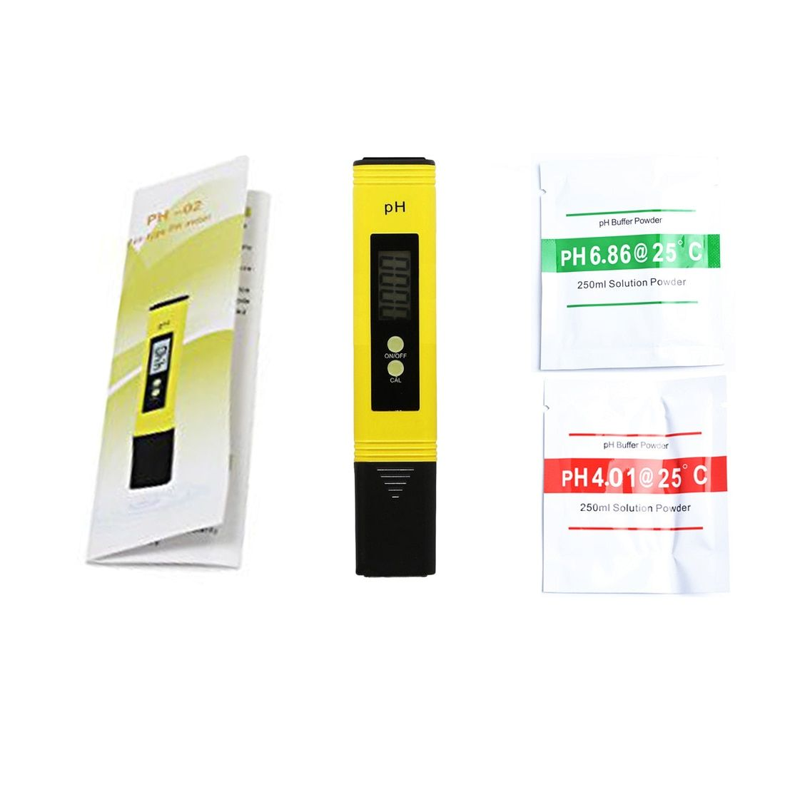 Portable LCD Digital PH Meter Range 0~14 Accuracy 0.1 Aquarium Pool Water Wine Urine Automatic Calibration Pocket Pen of Tester
