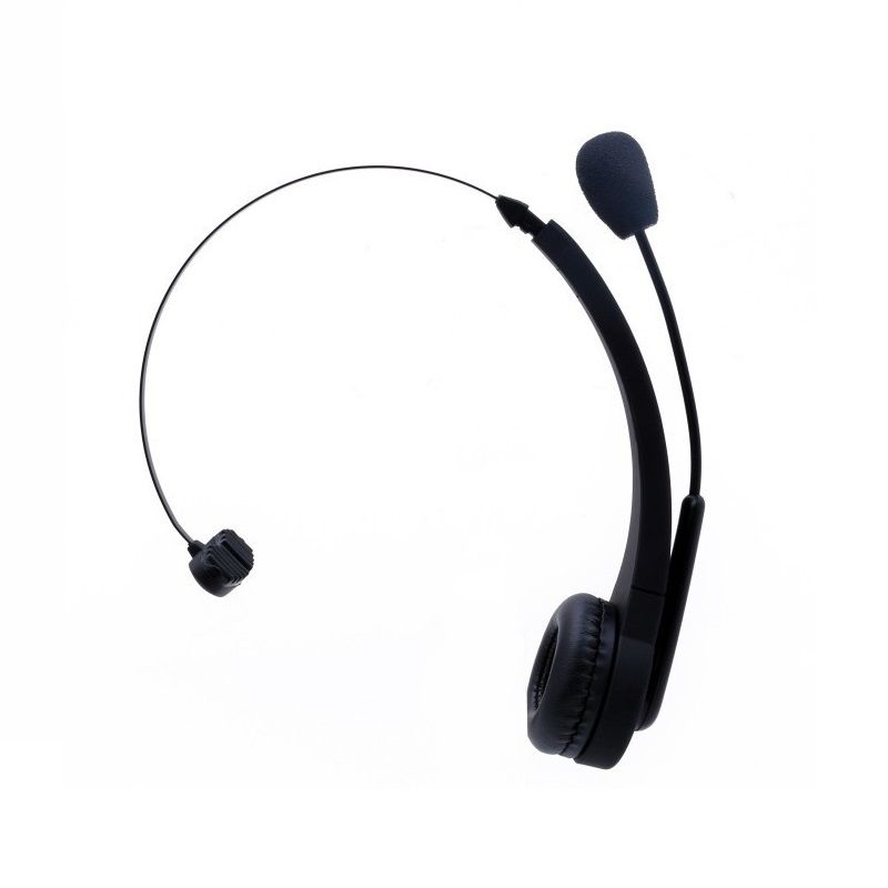 PHSOULTONE Wireless Bluetooth Headset With Microphone 10H Talking Time For Driver Call Center Skype Office Wireless Headphone