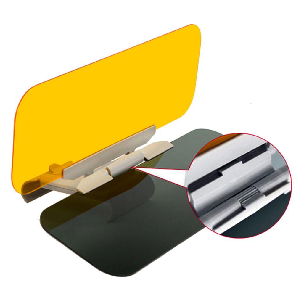 Pare-soleil de voiture HD Anti-soleil éblouissant lunettes de soleil jour Vision nocturne conduite miroir UV rabattable vue claire