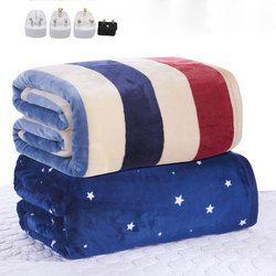 110-220 в толще один электрический матрац Термостат Электрическое одеяло безопасности электрическое подогреваемое одеяло теплое электрическ...