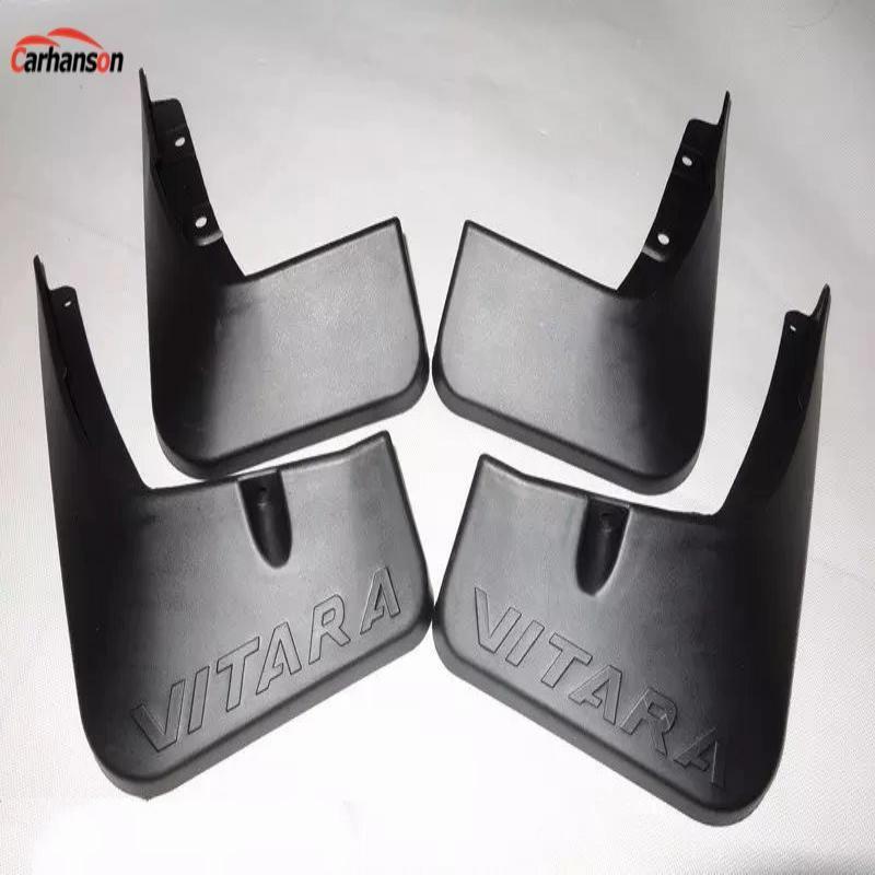 Accessoires de voiture pour Suzuki Vitara 2015 2019 garde-boue rabat anti-éclaboussures garde boue garde-boue accessoires de style de voiture 4 pièces
