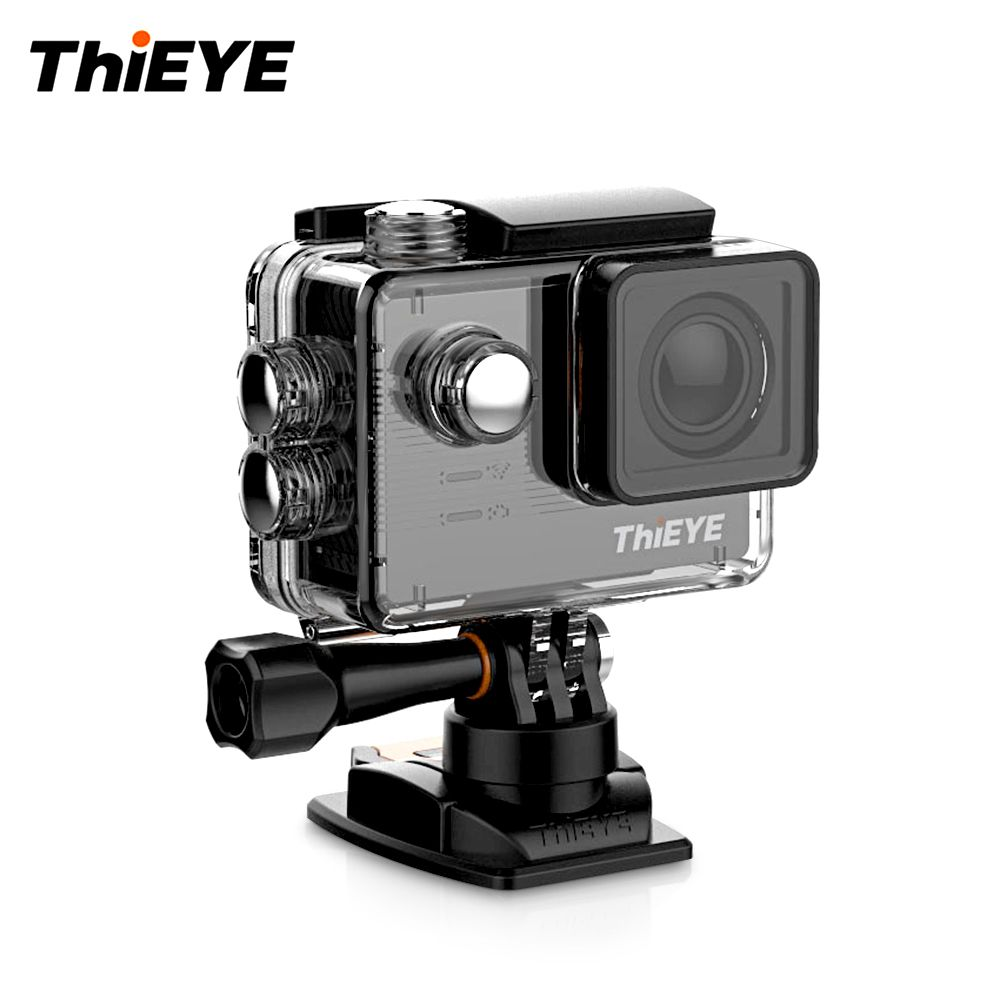 ThiEYE E7 Sports Action Camera Voice Remote Control 4K WiFi Sports Camera 14MP HD With 2'' IPS Screen Waterproof Action Camera