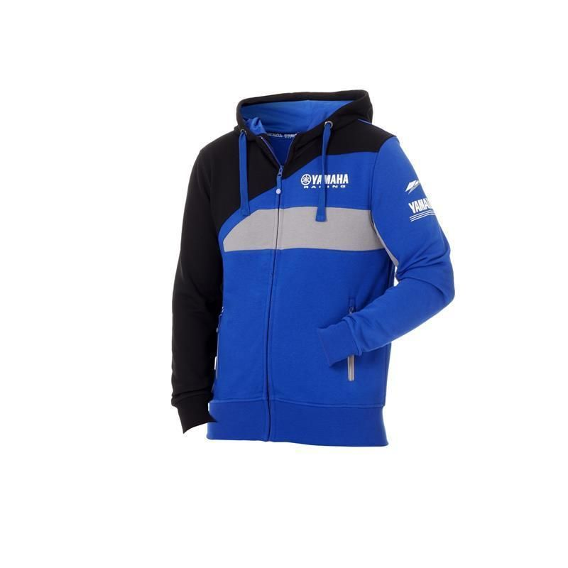 2018 Sweatshirt For MotoGP Yamaha M1 Racing Paddock Blue Hoody Sweater Jackets Blue size S-XXL