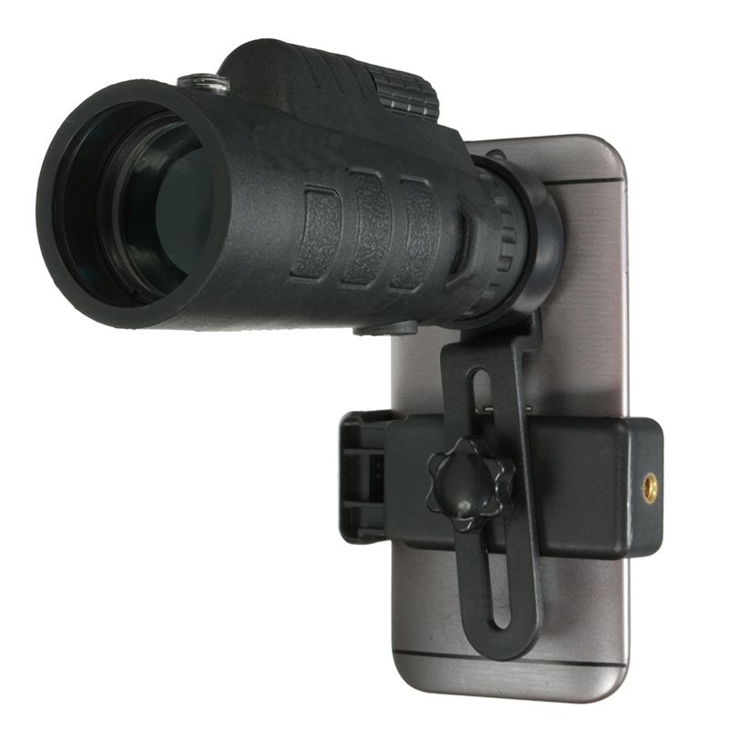 Universal 35x50 Zoom HD Optical Monocular <font><b>Telescope</b></font> Phone Lens Observing Survey Camping <font><b>Telescope</b></font> With Clip For Smartphones